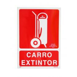 Señalización - Placa Carro Extintor