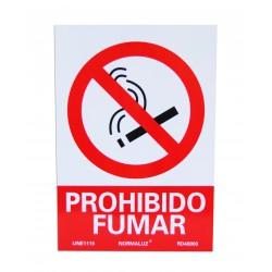 Señalización - Placa Prohibido Fumar