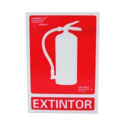 Señalización - Placa Extintor