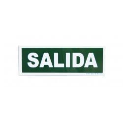 Señalización - Placa Salida